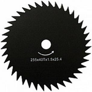 Нож для мотокосы 40-ка зубый Werk 25,4х255х1,6