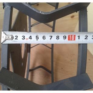 Грунтозацепы d 460x120 мм без полуосей квадрат