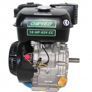 Двигатель бензиновый GrunWelt GW 460F-S (шпонка, вал 25мм)