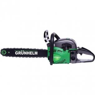 Бензопила Grunhelm GS 52-18/2 Professional ( 2 шины, 2цепи)