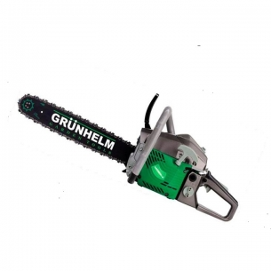 Бензопила Grunhelm GS 58-18/2 Professional ( 2 шины, 2 цепи)