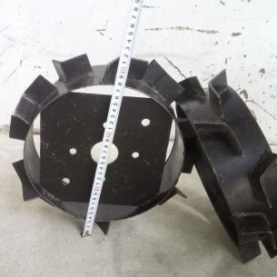 Грунтозацепы d320x80 мм без полуосей.