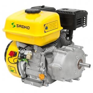 Двигатель бензиновый Sadko GE-200R PRO (шпонка, редуктор 1/2, вариатор)