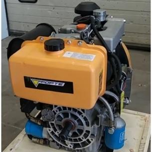 Двигатель дизельный Forte F2L92FE  (шпонка, вал 28,6мм)
