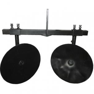 Окучник дисковый регулируемый d360мм + двойная сцепка