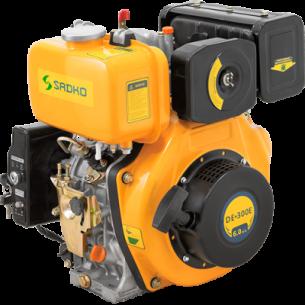 Двигатель дизельный Sadko DE-300E (шпонка)