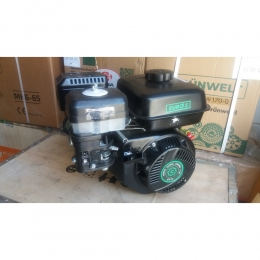 Двигатель бензиновый GrunWelt GW170F-T/25 (шлиц, вал 25мм)