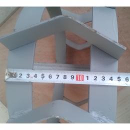 Грунтозацепы d 380x150 мм шестигранник (32) полоса