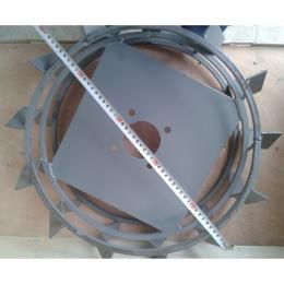 Грунтозацепы d 460x150 мм без полуосей квадрат