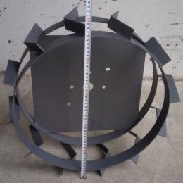 Грунтозацепы d 490x160мм без полуосей