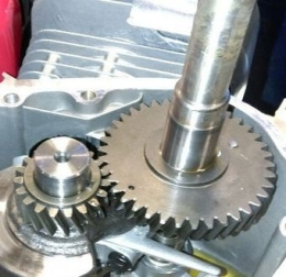 Двигатель бензиновый Weima WM170F-3 NEW (шпонка, редуктор 1/2)