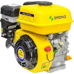 Двигатель бензиновый Sadko GE-200 PRO (шпонка, масляный воздушный фильтр)