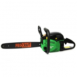 "Бензопила Procraft K 450 Professional (2 шины + 2 цепи 16""/18"")"