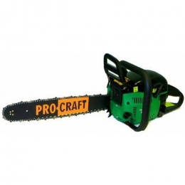 Бензопила Procraft K 450 Professional (2 шины + 2 цепи)
