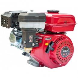 Двигатель бензиновый Saber DBF 168FD (шпонка + шкив, масляный воздушный фильтр)