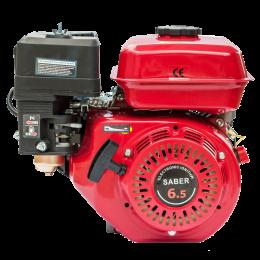 Двигатель бензиновый Saber DBF 168FD (шпонка + шкив, кассетный воздушный фильтр)